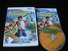 Nintendo Wii Complete in box Active Life Outdoor Challenge tested