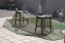 US Army mosquito bug netting cot
