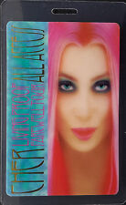 *** CHER ***  LAMINATED BACKSTAGE PASS - ALL ACCESS