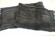 20% Off Now $399.95 -100% Mink Shawl ,Mink Wrap Measures 16 inches by 72 inches