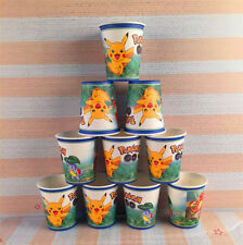 Hot Pokemon Go Party Tableware Birthday Decorations Supplies Party Cups Plates