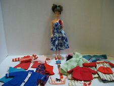 Vintage Barbie Doll~1960~Mitzi Ideal Toy Corp MCMLX~Tammy Clothes & Shoes~J4
