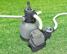 New GEnuine Intex 0.75hp SAND FILTER & PUMP Combo for Above Ground Pool 28648