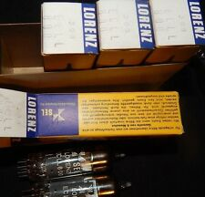 4 PIECES NOS NIB GERMANY MADE ECLL800 / 6KA8 TUBES MATCHED QUAD LORENZ ECLL 800