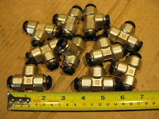 Lot of 10 Parker JPB12 Prestolok 12mm Union Tee Brass Push To Connect Fitting