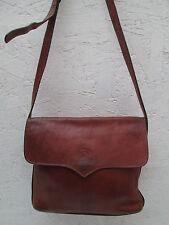 AUTHENTIQUE sac à main  cuir HENRY SAXEL   (T)BEG  bag vintage à saisir