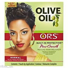 Organic Root Stimulator ORS No-Lye Hair Relaxer Normal 1 Touch-Up Application