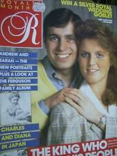 Royalty Magazine V5 #10 Andrew & Sarah Engagement, Charles & Diana In Japan