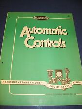 Masoneilan Controls 1950's Catalog Asbestos History Mason-Neilan Regulator Co