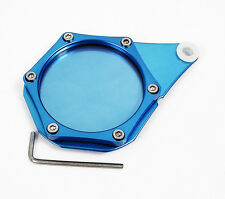 Blue Metal Tax Disc Holder suitable for Honda CBF 125