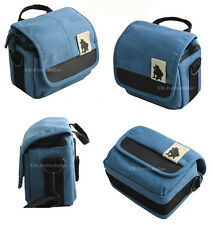 Canvas Shoulder Waist Camera Case Bag For PENTAX Q K-01 Q10 Q7 Q-S1