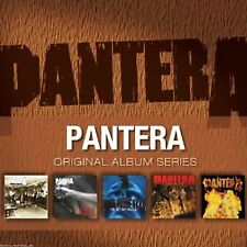 PANTERA - ORIGINAL ALBUM SERIES - 5 CD BOX SET - NEW FACTORY SEALED