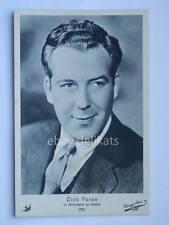 ELAH Warner Bros. DICK FORAN cinema vecchia cartolina old post card