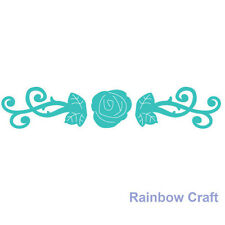 Ultimate Crafts universal impression dies - Rose Divider