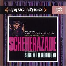 Rimsky-Korsakov: Scheherazade; Stravinsky: Song of the Nightingale [Hybrid SACD]