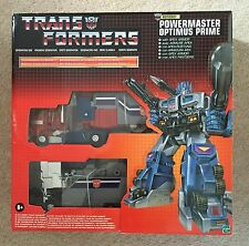 Transformers G1 Commemorative Powermaster Prime / God Ginrai W/ Apex Armour MISB
