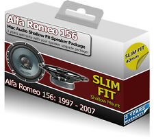 ALFA ROMEO 156 PORTA ANTERIORE oratori MAC AUDIO SLIM bassofondo adatta Auto Altoparlanti 200W