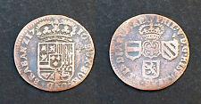 Liard 1710. Belgique, Brabant Namur. Bronze