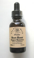 The Elder Herb Shoppe Beet Root Super Booster Extract Drops All Natural -1 oz