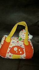"Yellow Kitten Vintage Floral Fancy Pal Pet Carrier 8"" by Aurora"