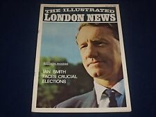1965 MAY 1 THE ILLUSTRATED LONDON NEWS MAGAZINE - IAN SMITH COVER - J 1757