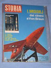STORIA ILLUSTRATA - n° 152 Luglio 1970 - I missili dai cinesi a Von Braun (N1)