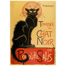 Le Chat Noir Ad Poster Deco FRIDGE MAGNET, 1896 Théophile Steinlen Black Cat