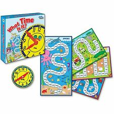 Carson-Dellosa Publishing Co., 4-in-1 Board Game What Time is it Grade 2 113/pcs