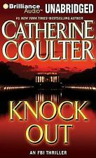 KNOCK OUT by CATHERINE COULTER- GREAT AUDIO BOOK W/ FREE SHIPPING