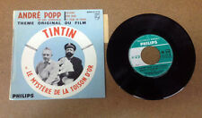 TINTIN - 45 TOUR - LE MYSTERE DE LA TOISON D'OR (BE/TBE)
