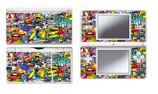 Bombing N262 Vinyl Decal Skin Sticker for Nintendo DS Lite DSL NDSL