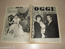 OGGI=1961/10=FARAH DIBA=REZA PAHLAVI=ERNESTO CALINDRI=ALIGHIERO NOSCHESE=