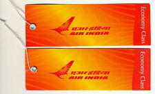 AIR-INDIA Airways Baggage Tags Economy Class