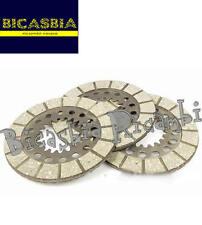 2243 - DISCHI CAMPANA FRIZIONE A 3 PIAGGIO VESPA 150 STRUZZO (56-57) VL3T