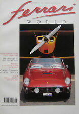 Ferrari World magazine Issue 14 , September/October 1991 250GT, 250 Testa Rossa