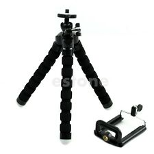 Mini Flexible Octopus Tripod Bracket Holder Stand Mount For Cell Phone Camera