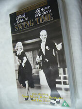 SWING TIME GINGER ROGERS AND FRED ASTAIRE PAL VHS SMALL BOX