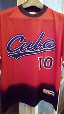 Maglia Jersey Baseball Cuba Batos tg. L n°10
