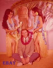 Alan Young w/hula girls Vintage  4  X  5  TRANSPARENCY Mister Ed