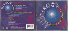 DISCO'S  GREATEST HITS VOLUME ONE CD 1995