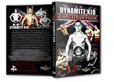 The Dynamite Kid Documentary DVD Wrestling WWF WWE AJPW japan British Bulldogs