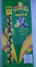 Mighty Morphin Power Rangers Watch Yellow Ranger 1993 Gordy Time New