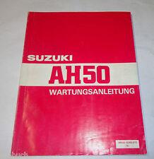 Werkstatthandbuch Suzuki Roller AH 50 / AH50, Stand 02/1992