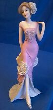 JULIANA VINTAGE ROSE PRETTY LADY FIGURE OR MODEL IN PINK DRESS PATIENCE 58444