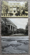 SET OF 9 PHOTOS AMERICAN ARCHITECTURE/BEAUTIFUL LARGE HOUSES, MICHIGAN?