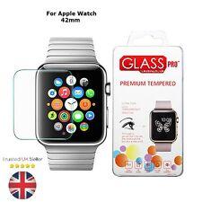 Véritable verre trempé Film Protecteur d'écran pour Apple watch sport edition 42mm