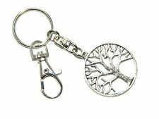 B-0042 - Tree of Life Keyring / Key Ring Bag Decoration. Growth Wisdom Luck