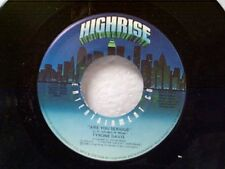 """TYRONE DAVIS """"ARE YOU SERIOUS / OVERDUE"""" 45 MINT UNPLAYED"""