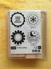 Stampin Up ...SO MANY SCALLOPS  NEW! UM Rubber Stamp
