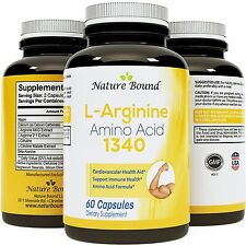 L-Arginine with L-Citruline - Natural Supplement for Heart Health & Circulation